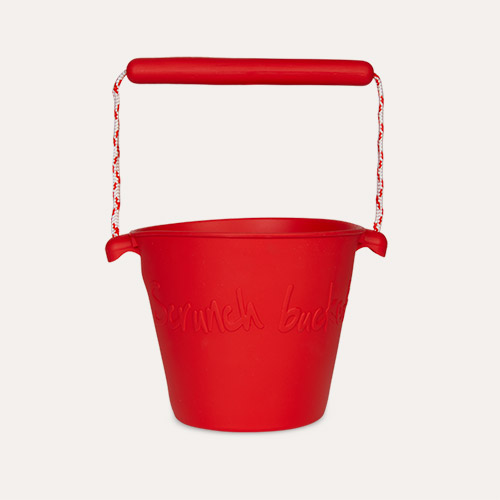 Red Scrunch Scrunch Bucket
