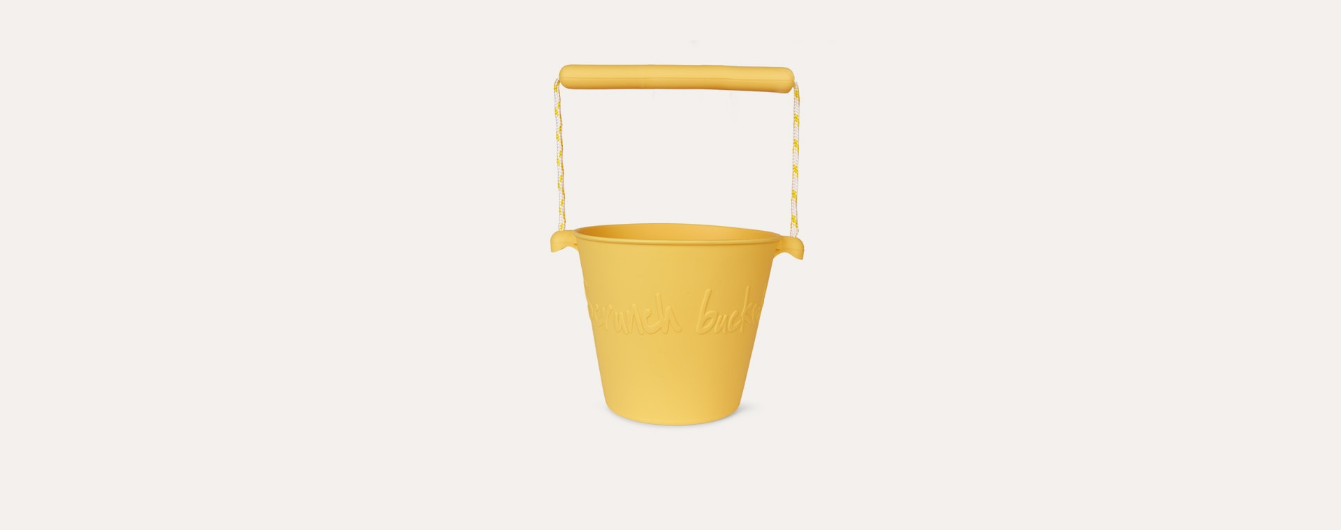 Buttercup Yellow Scrunch Scrunch Bucket