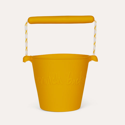 Mustard Scrunch Scrunch Bucket