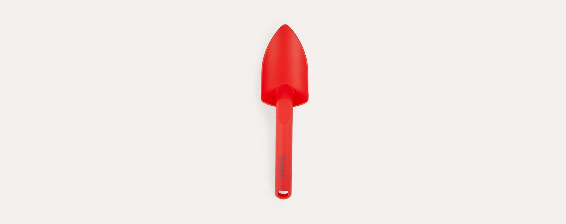Red Scrunch Scrunch Spade