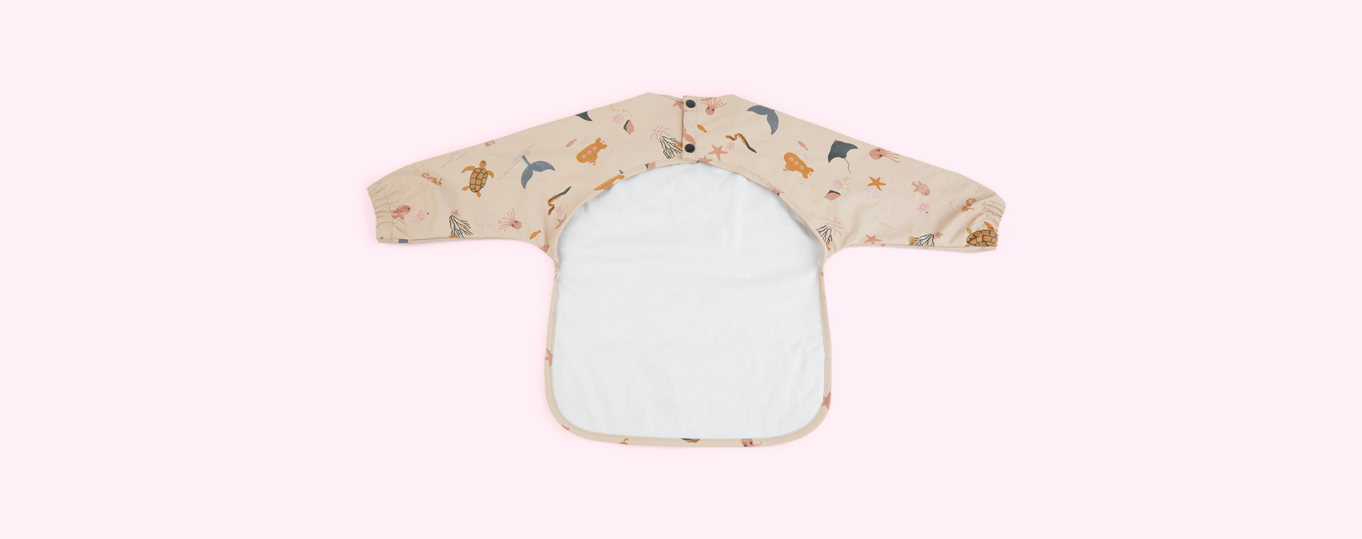 Sea creature rose mix Liewood Merle Cape Bib