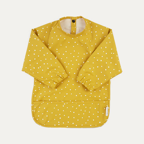 Confetti Yellow Mellow Liewood Merle Cape Bib