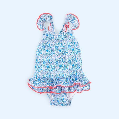Multi Sunuva Baby Blue Liberty Swimsuit