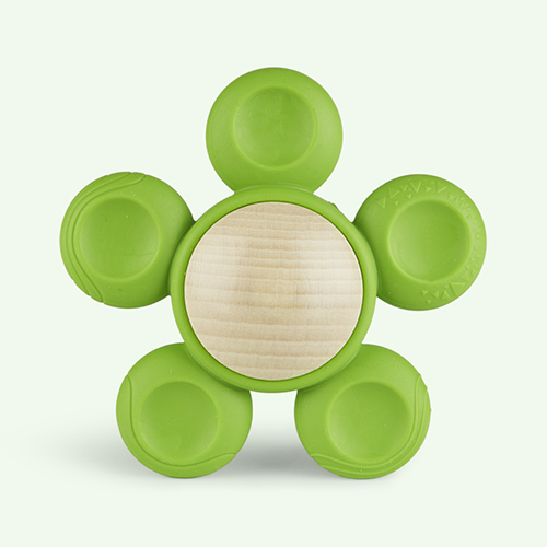 Green little big things Fio Teether Toy