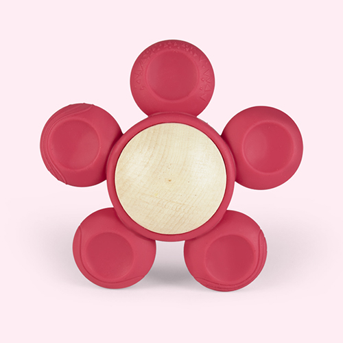 Pink little big things Fio Teether Toy