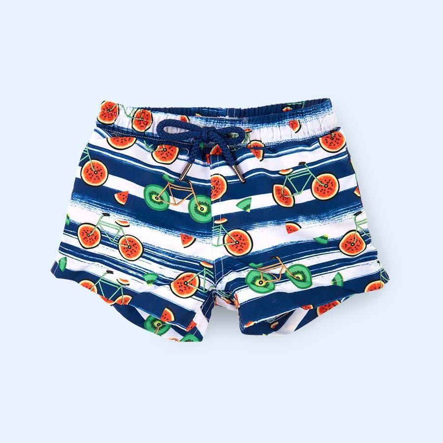 Multi Sunuva Baby Fruit Bikes Swim Shorts