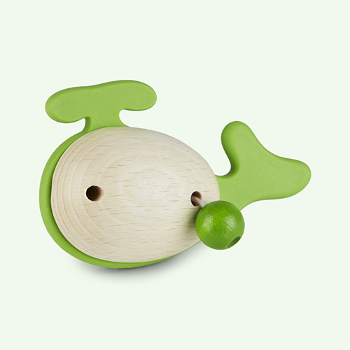 Green little big things Jono Teether Toy