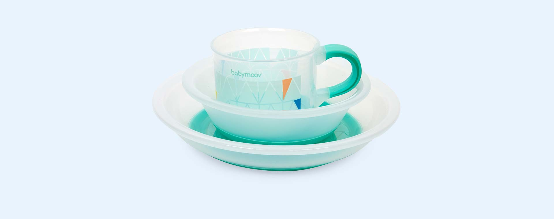Blue Babymoov Non-Slip Bowl