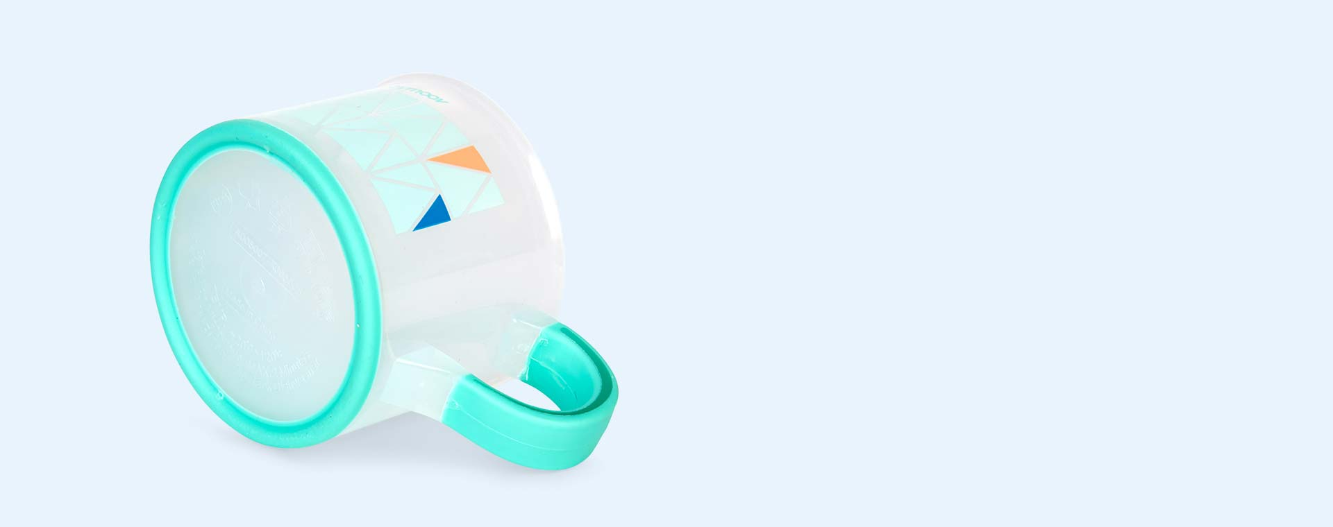 Blue Babymoov Non-Slip Cup