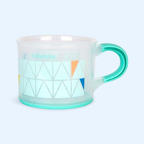 Blue Babymoov Non-Slip Cup