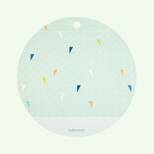 Blue Babymoov Silicone Placemat
