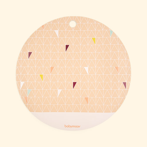 Pink Babymoov Silicone Placemat