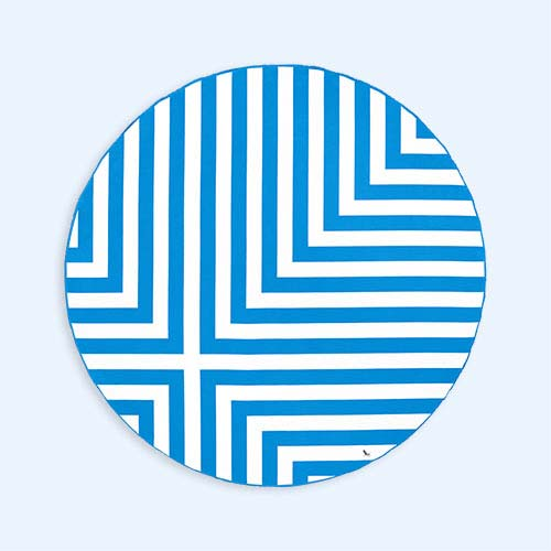 Bondi Blue Dock & Bay Round Towel