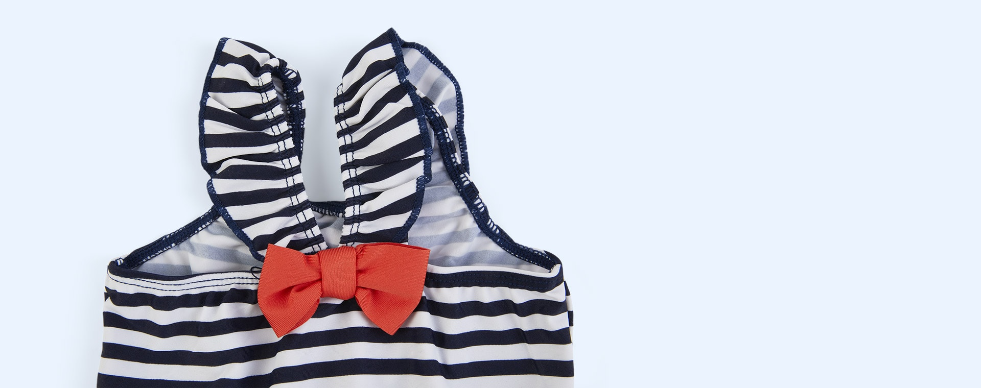 Navy White Stripe Splash About Happy Nappy Costume