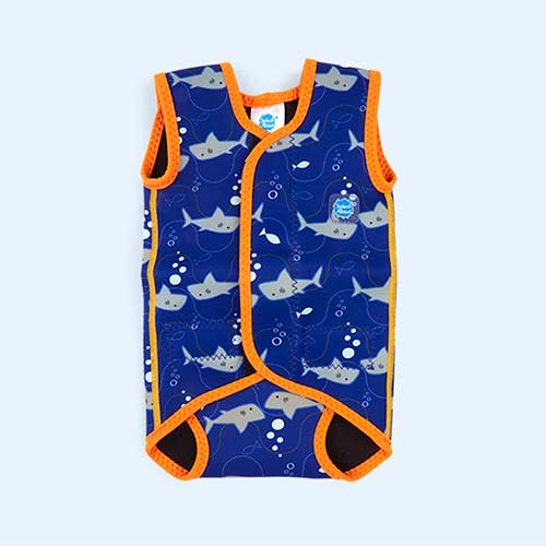 Sharks Splash About Baby Wrap