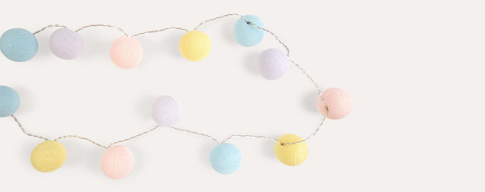 Celeste Pastels La Case de Cousin Paul String Light