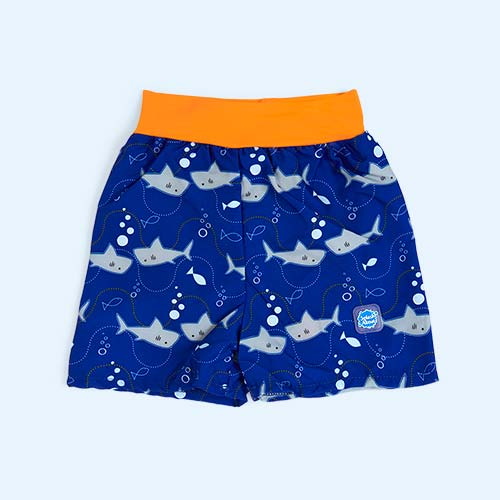 Sharks Splash About Happy Nappy Board Shorts