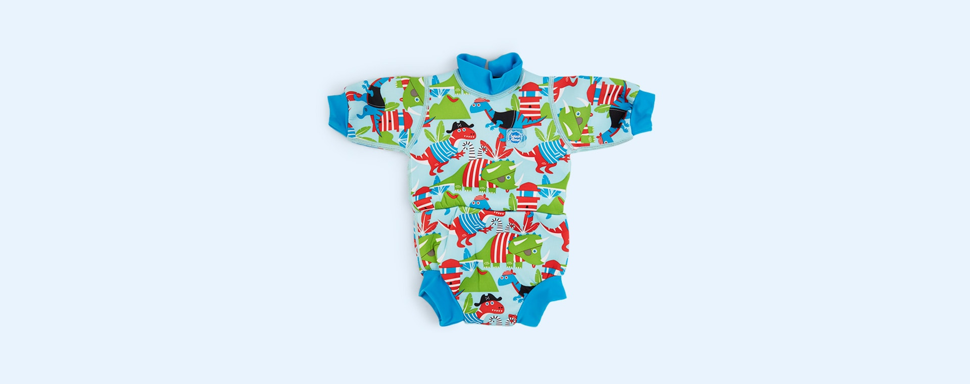 Dino Pirates Splash About Happy Nappy Wetsuit