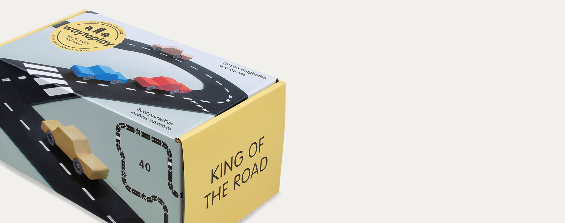 Black waytoplay King Of The Road 40 Piece Set