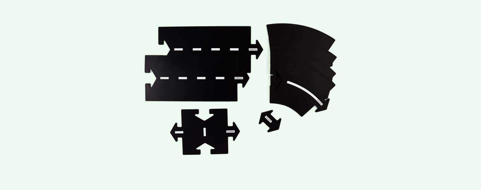 Black waytoplay Halfway Set 7 Parts