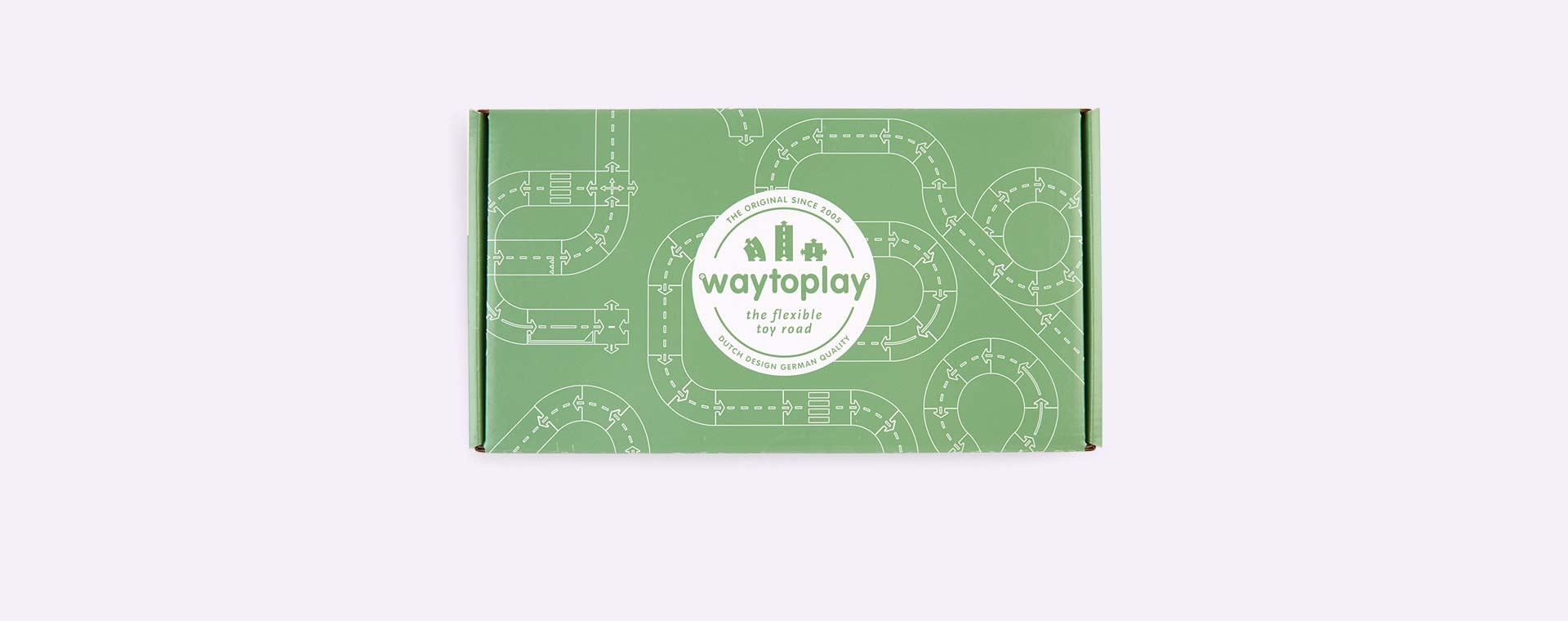 Black waytoplay Straight Extension Set 4 Parts