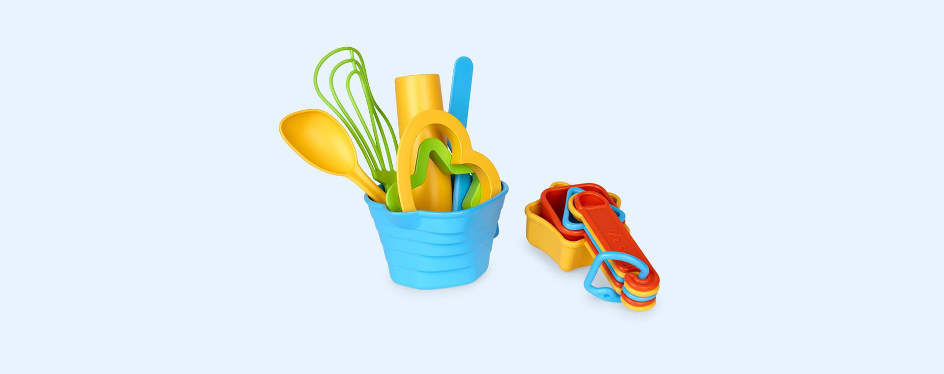 Multi Green Toys Baking Set