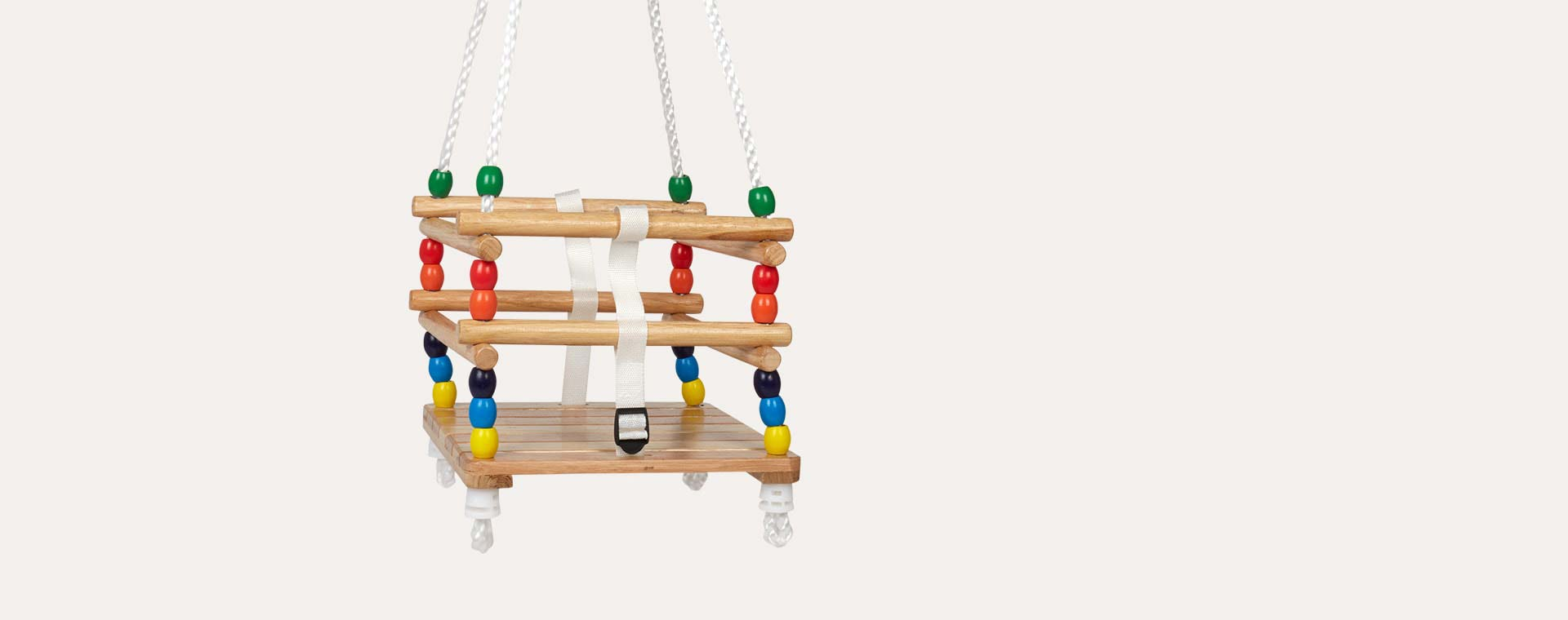 Natural Bigjigs Cradle Swing