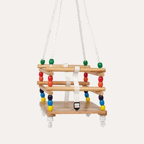 Natural Bigjigs Cradle Swing