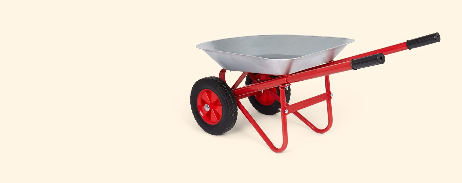 Grey Bigjigs Wheelbarrow