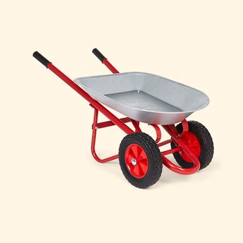 Grey Bigjigs Wheelbarrow
