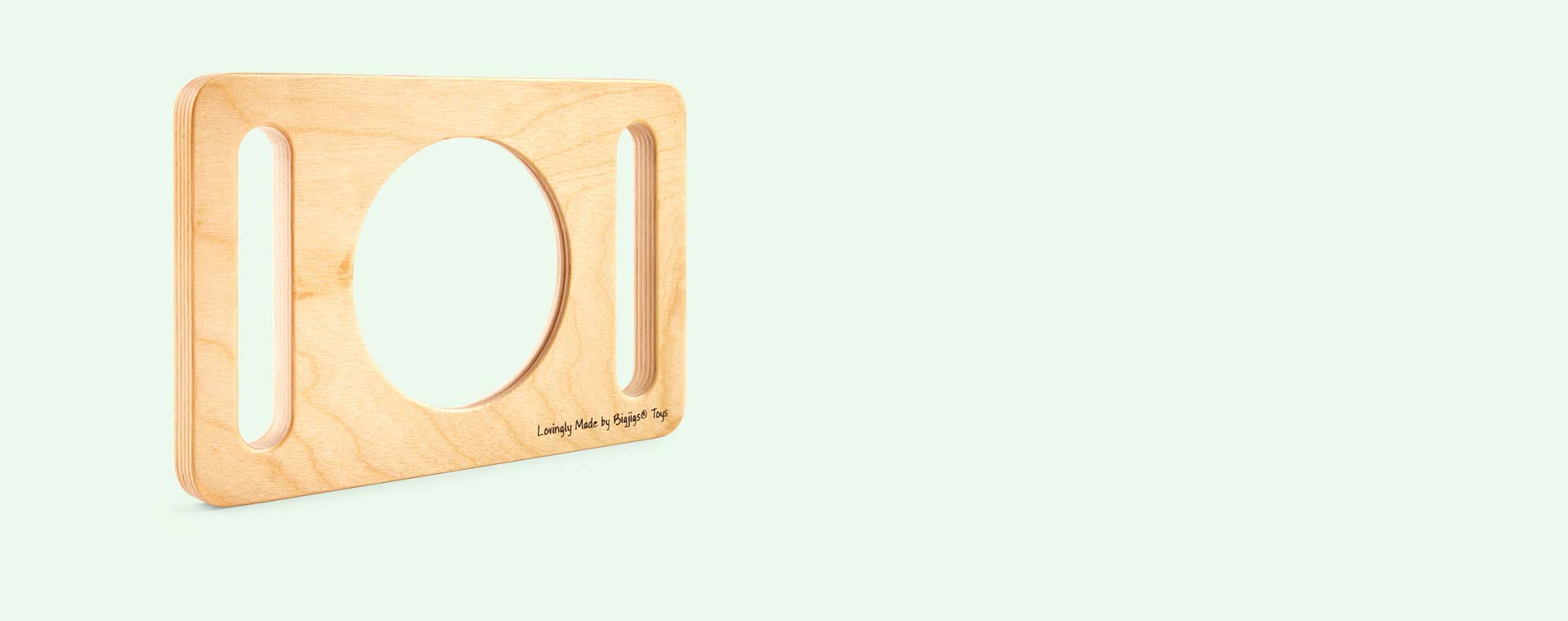 Wooden Bigjigs Two Handed Magnifying Glass