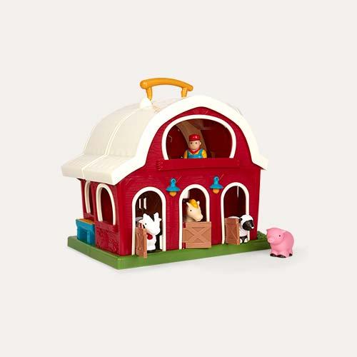 Multi Battat Big Red Barn Playset