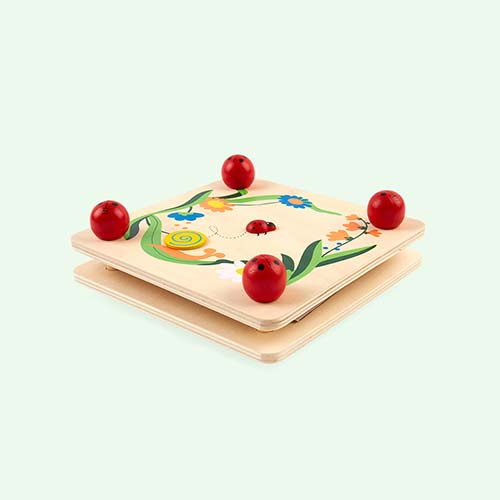 Wooden Bigjigs Flower Press