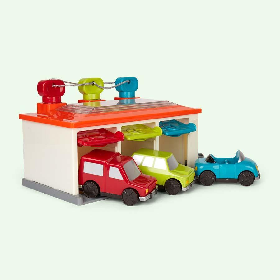 Multi Battat 3-Car Garage