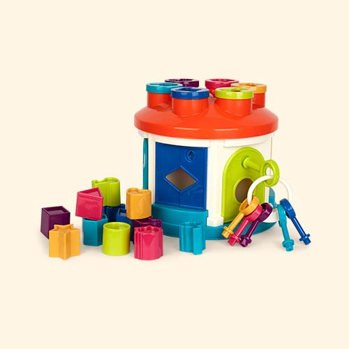 Multi Battat Shape Sorter House