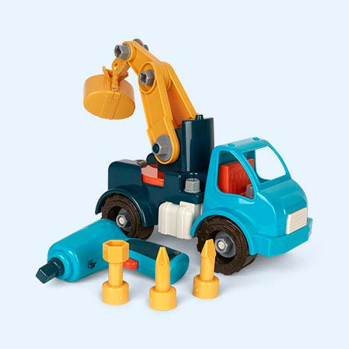 Multi Battat Take-Apart Crane Truck