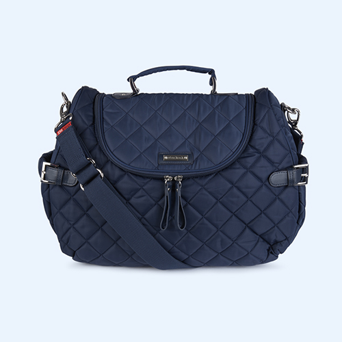 Navy Storksak Poppy Convertible Backpack