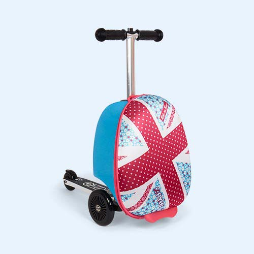 Daisy Zinc Flyte Mini Scooter Suitcase