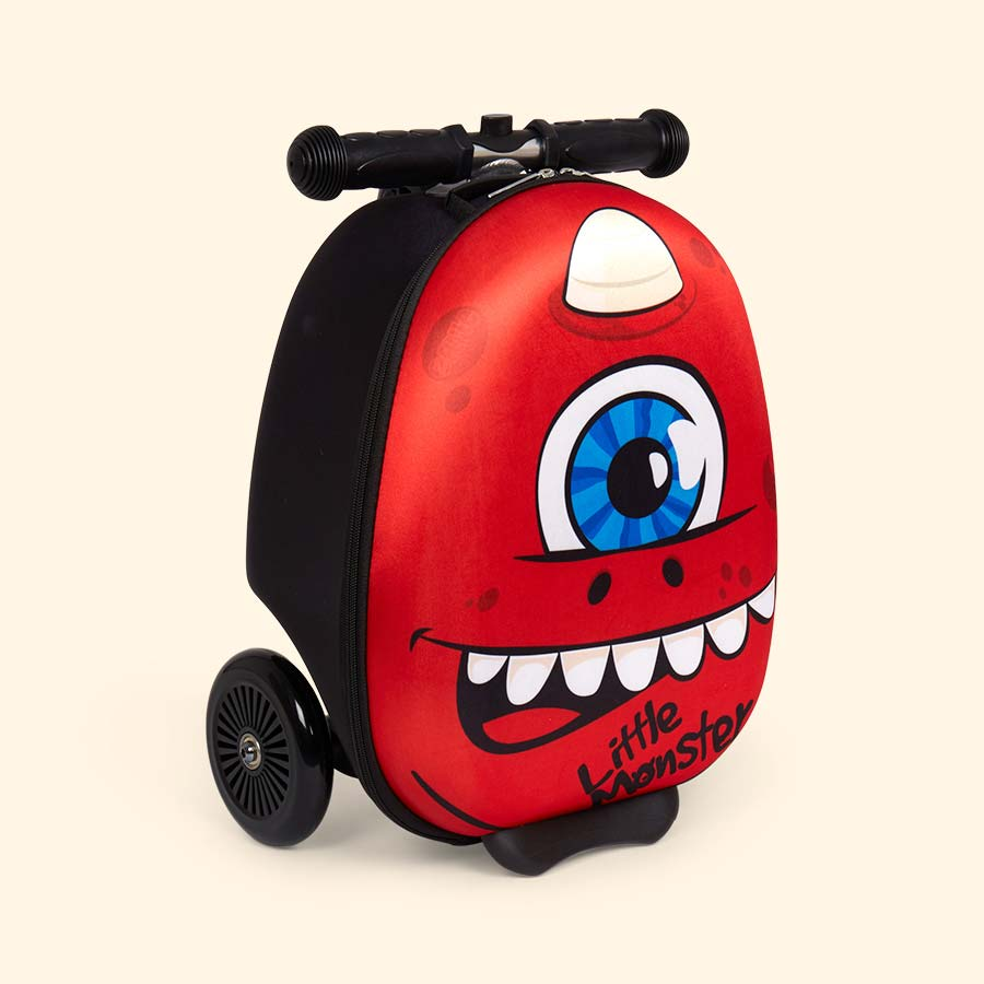 Sid the Cyclops Zinc Flyte Mini Scooter Suitcase