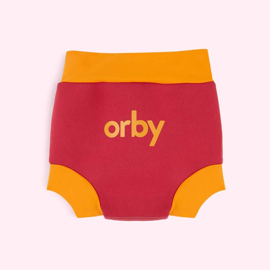 Pink Orby Swim Nappy