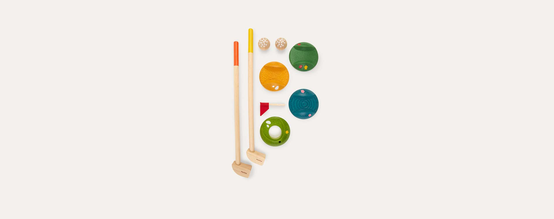 Multi Plan Toys Mini Golf Set