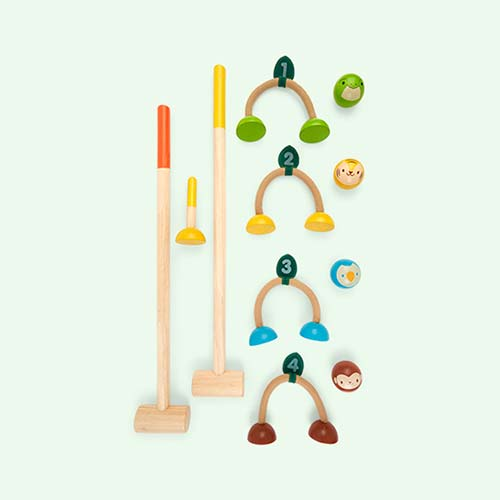 Multi Plan Toys Croquet Set