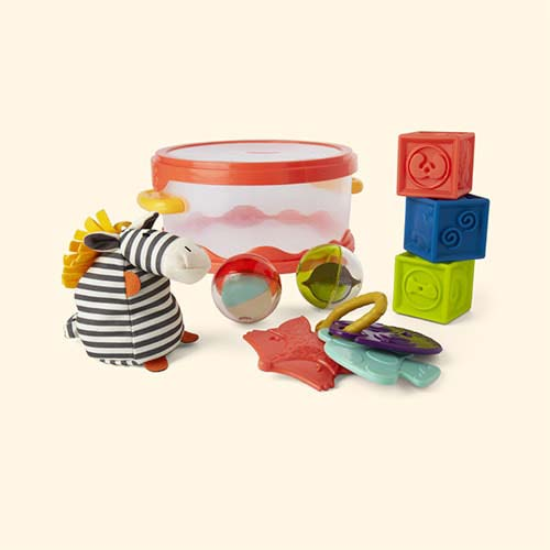 Multi B. toys Wee B.Ready playtime set
