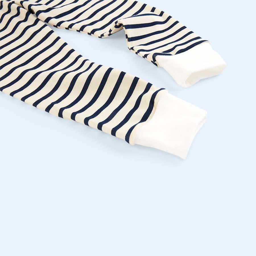 Navy Stripe Sleepy Doe Classic Breton PJ Set