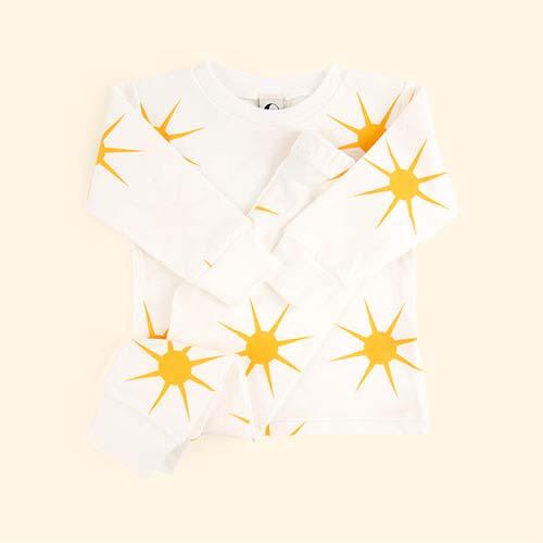 Yellow Sunshine Sleepy Doe Sunshine Pj Set