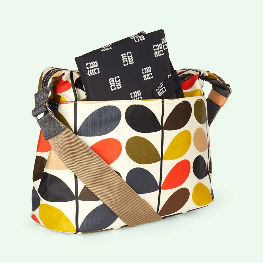 Multi Stem Orla Kiely Sling Baby Bag