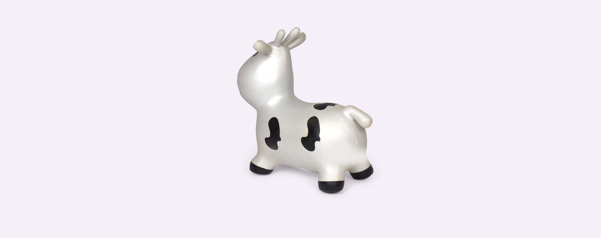 Silver Happy Hopperz Small Cow Hopper