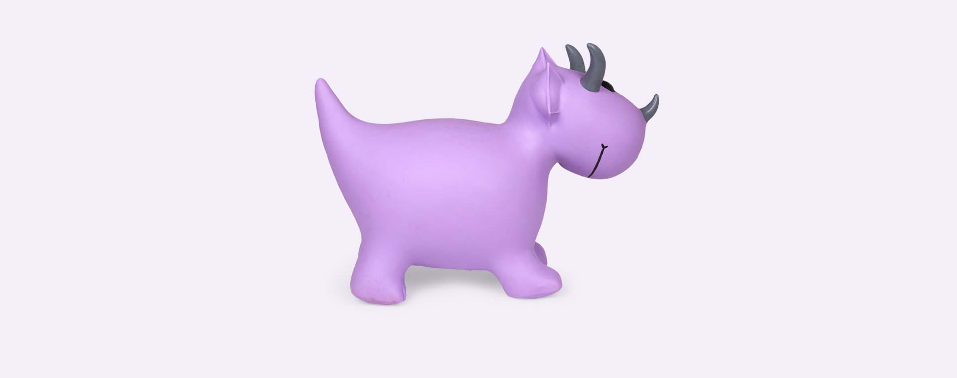 Purple Happy Hopperz Small Dinosaur Hopper