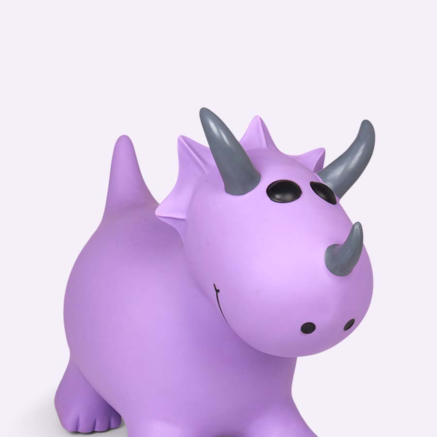 Purple Happy Hopperz Small Dinosaur Hopper