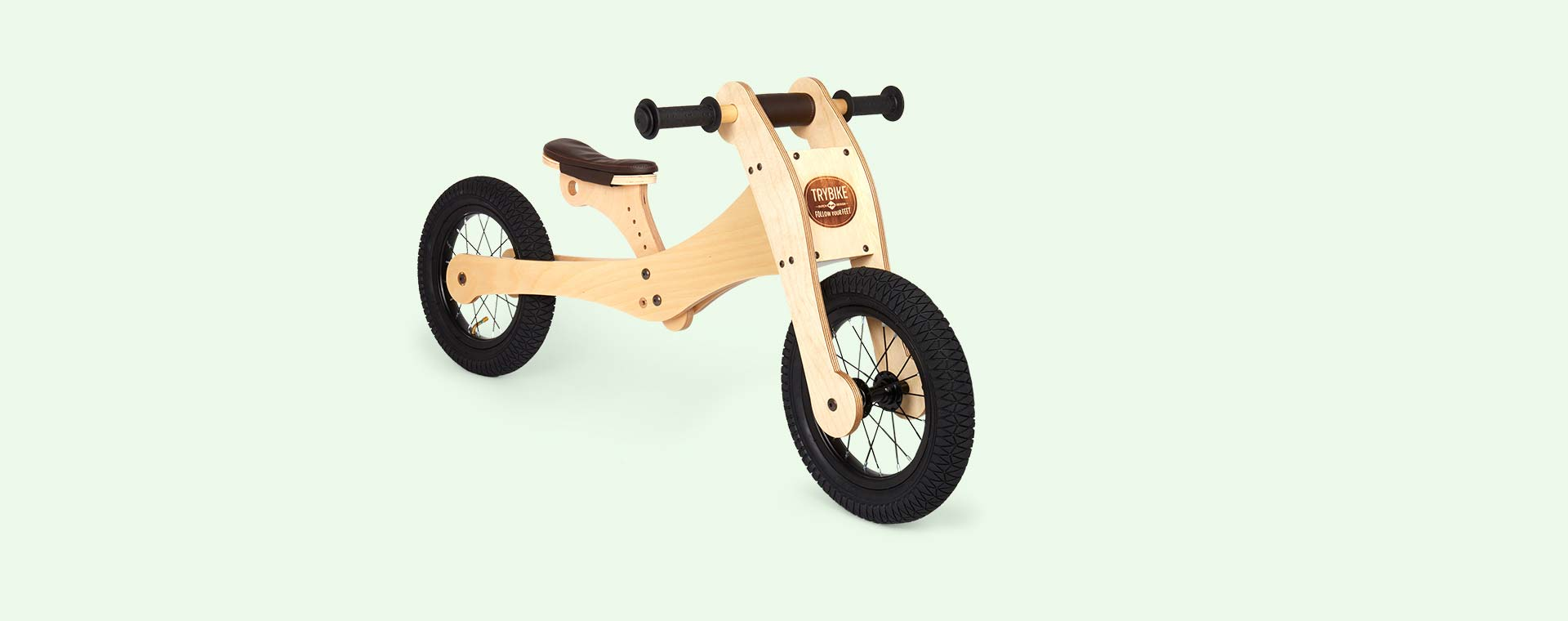 Neutral TRYBIKE Wooden 4-in-1 Bike